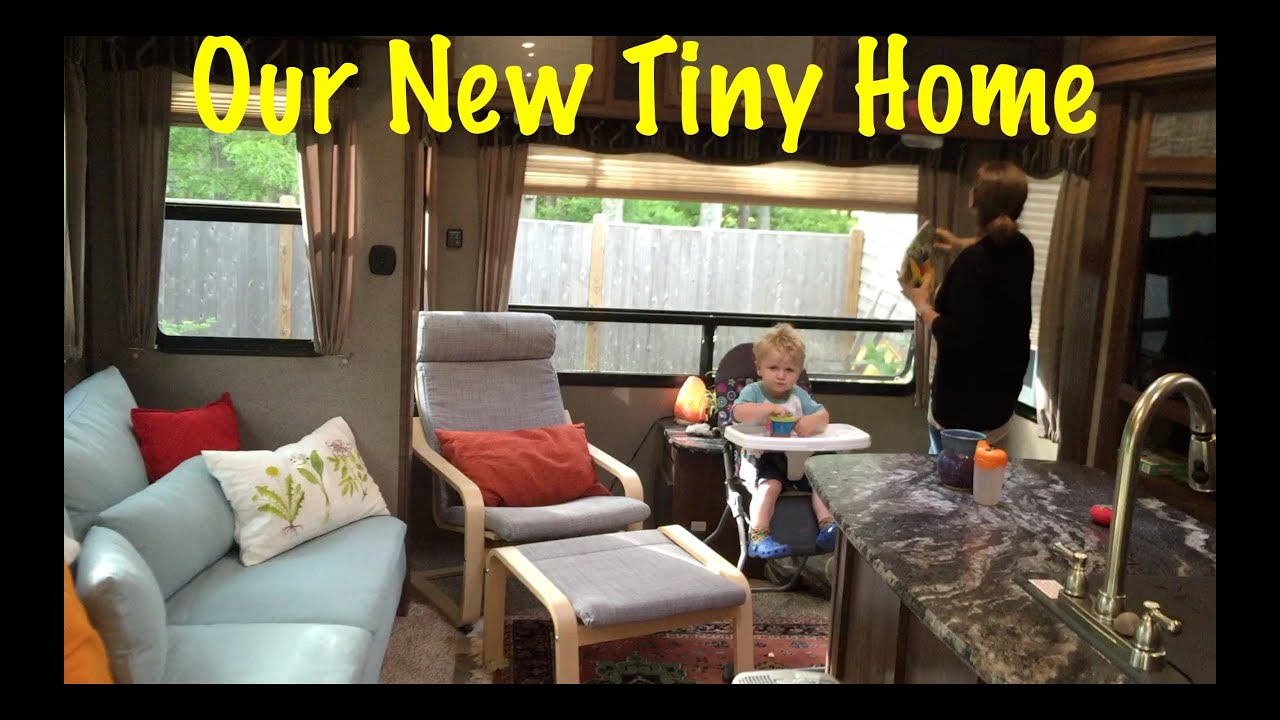 Full Time RV Living   New Fifth Wheel Before And After   YouTube