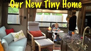 Full Time RV Living - New Fifth Wheel Before and After