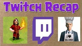 Clash of Clans - Clan Wars Clash Off: Twitch Highlights w/ Daddy