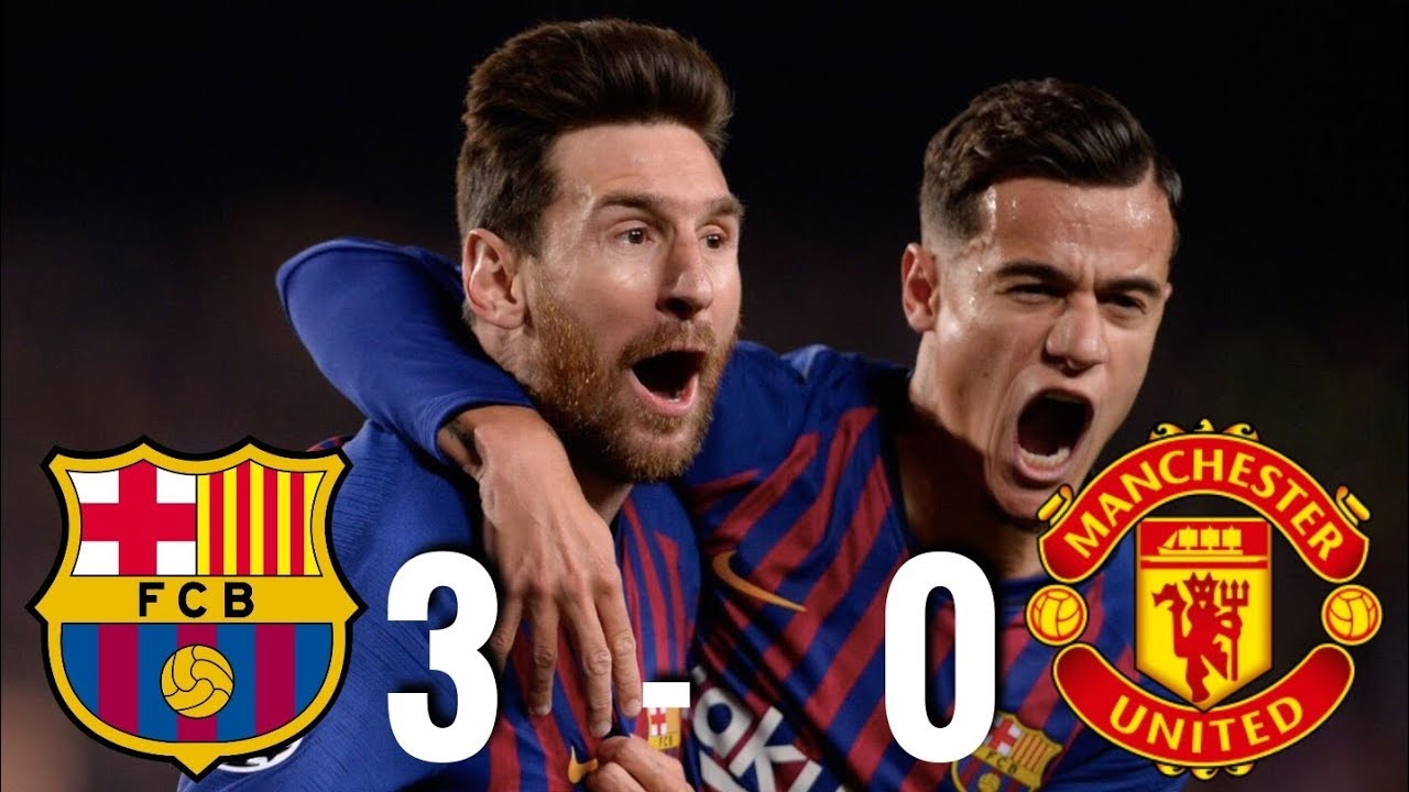 Barcelona vs Manchester United 30 Champions League QuarterFinal 2019  MATCH REVIEW  YouTube