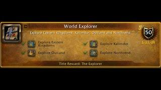 Открываем и исследуем карту в World of Warcraft