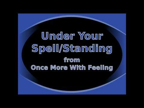 Under Your Spell/Standing (Reprise) from Once More With Feeling - Karaoke/Instrumental (Piano Cover)