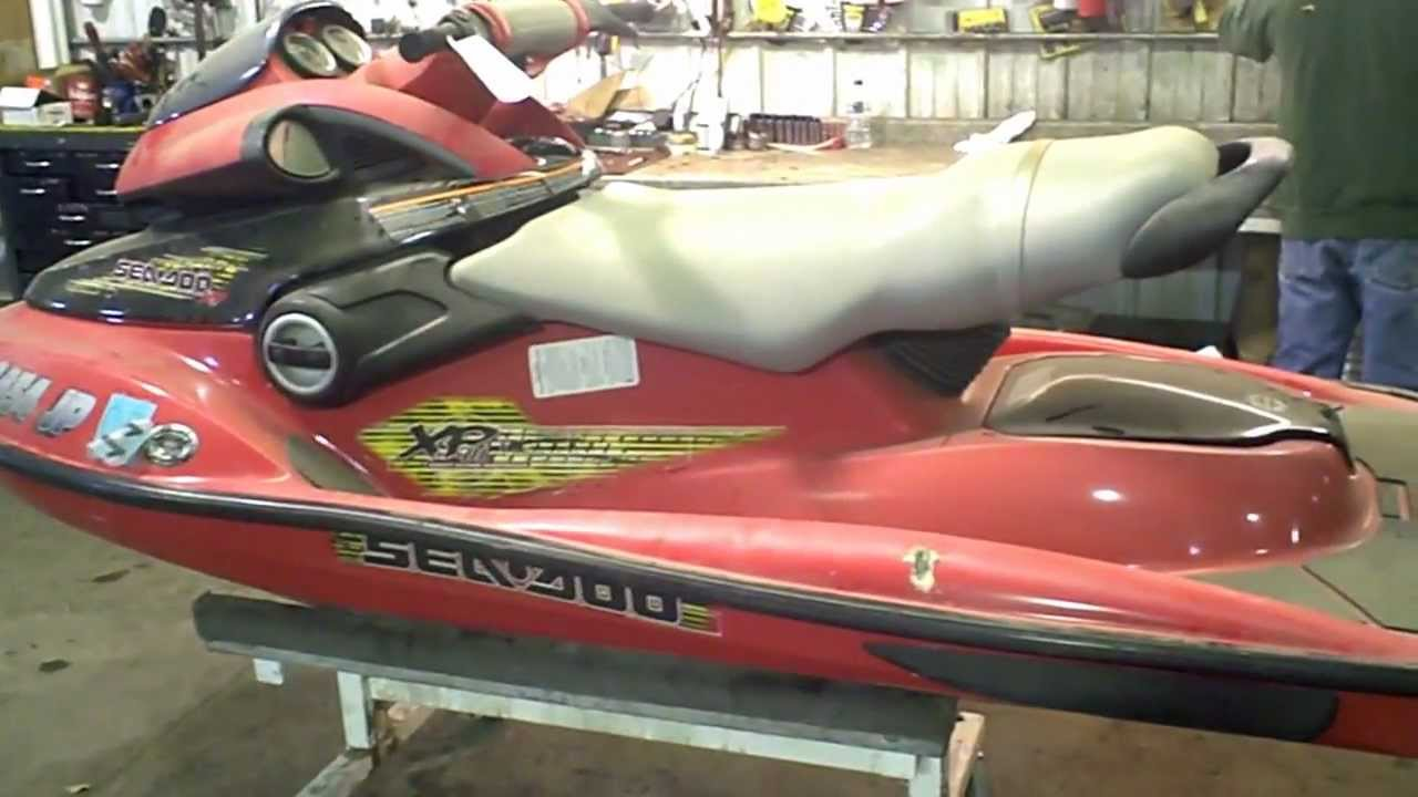 Lot 1327b 2003 Sea Doo Xp Di Xpdi 951 Jet Ski Youtube