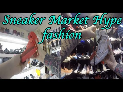 Guangzhou Counterfeit industry fake market culture sneaker a