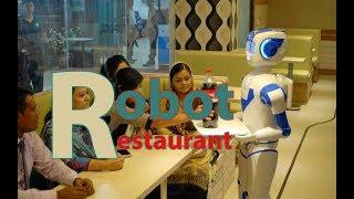 Fantastic Robot Restaurant Dhaka Bangladesh | Robot Serving Food | রোবট রেস্টুরেন্ট