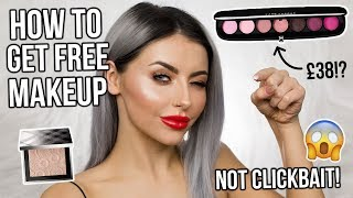 HOW TO GET FREE MAKEUP! HAUL AND FIRST IMPRESSIONS   ad