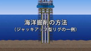 3つのタイプに大別される海洋掘削リグや掘削作業のイメージをご紹介す...