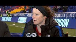 Rose Lavelle - Post-game interview 3.4.2017