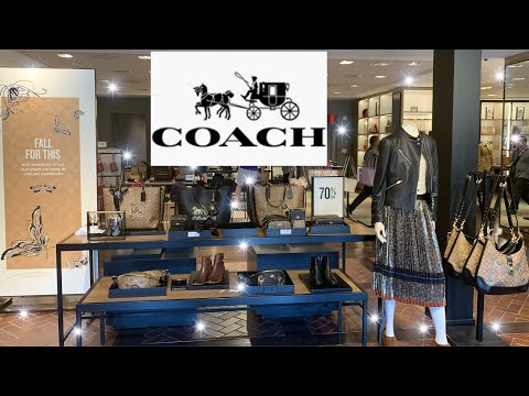 Coach Outlet 70% Off New Fall Items Shop With Me