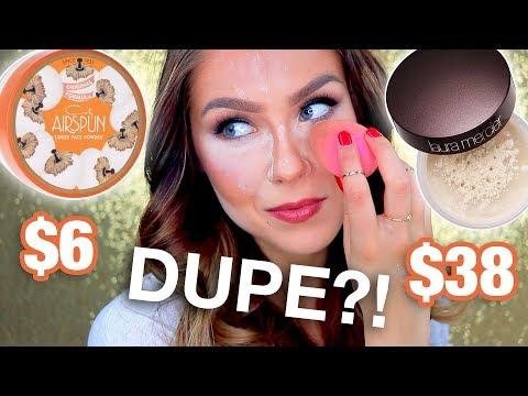 Coty Airspun Vs Laura Mercier Powder Dupes?!