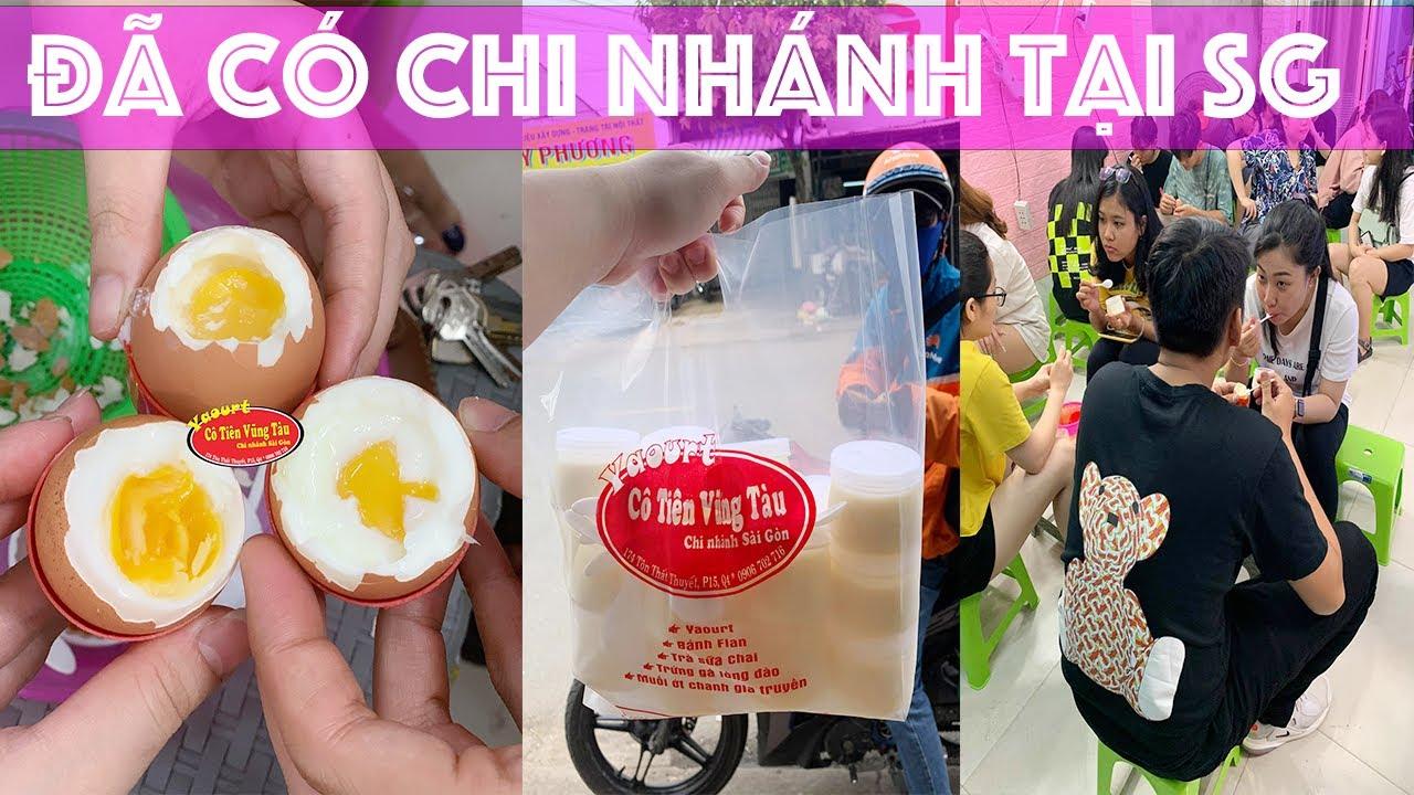 Yaourt Cô Tiên nổi tiếng Sài Gòn khách kéo đến đông nghitj