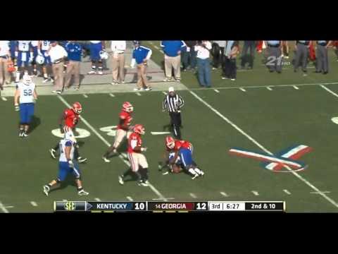 Jarvis Jones vs Kentucky  and Tennessee 2011