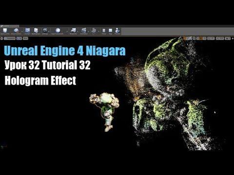 Unreal Engine 4 Niagara Tutorial 32 Hologram Effect