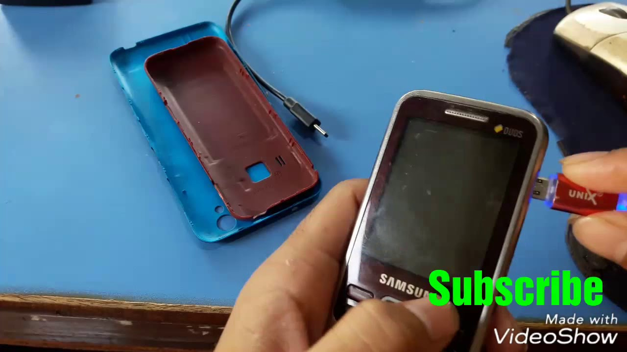 Samsung gt-c3322 flash z3x box crack 100% working in hindi youtube.