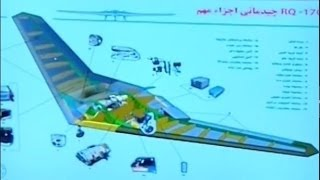 unveiling of iranian replicate of rq 170 exhibition of irgc aerospace division s achievements