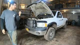 Pickup truck repairs