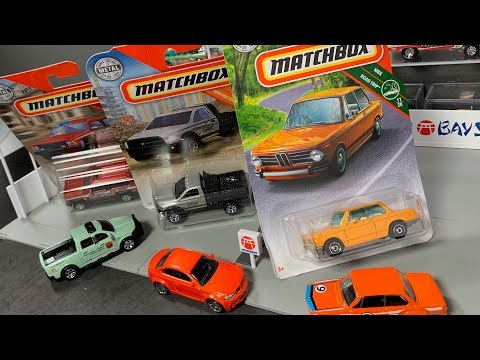 Lamley Showcase: Opening The Matchbox BMW 2002 & 2019 A Case Highlights
