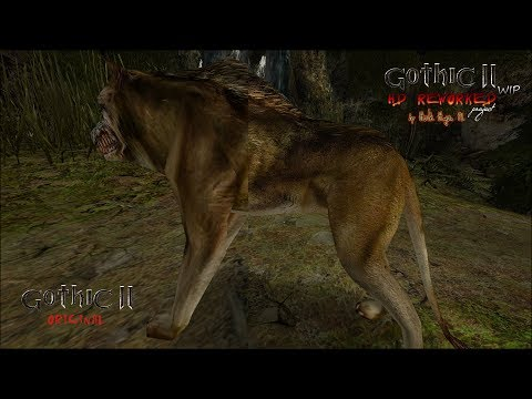 Upcoming HD Reworked Project for Gothic 2 - short preview