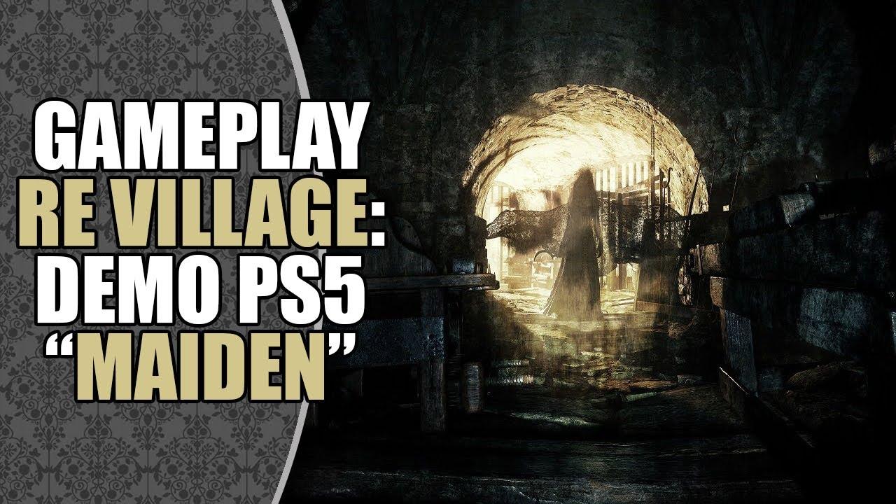 """Conferindo a DEMO """"Maiden"""" de Resident Evil Village no Playstation 5"""