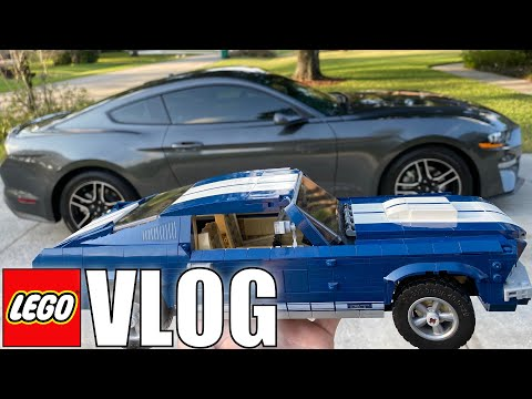 BUYING MY FORD MUSTANG! + Finding A LEGO That SHOULDN'T Be There!   MandRproductions LEGO Vlog!