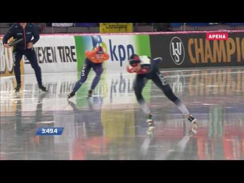 Martina Sablikova 5000m - 6:54.57. World Allround Championships 2017