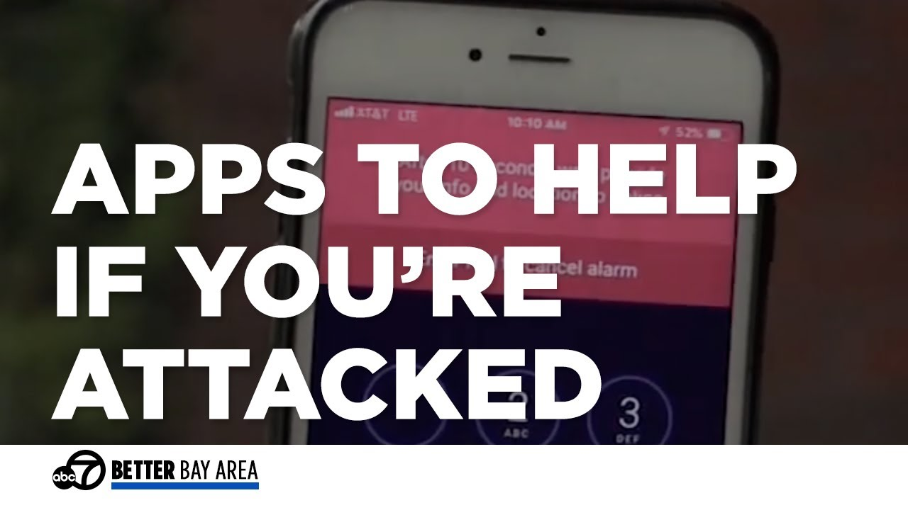 SMARTPHONE APPS TO HELP IF YOUR'RE ATTACKED