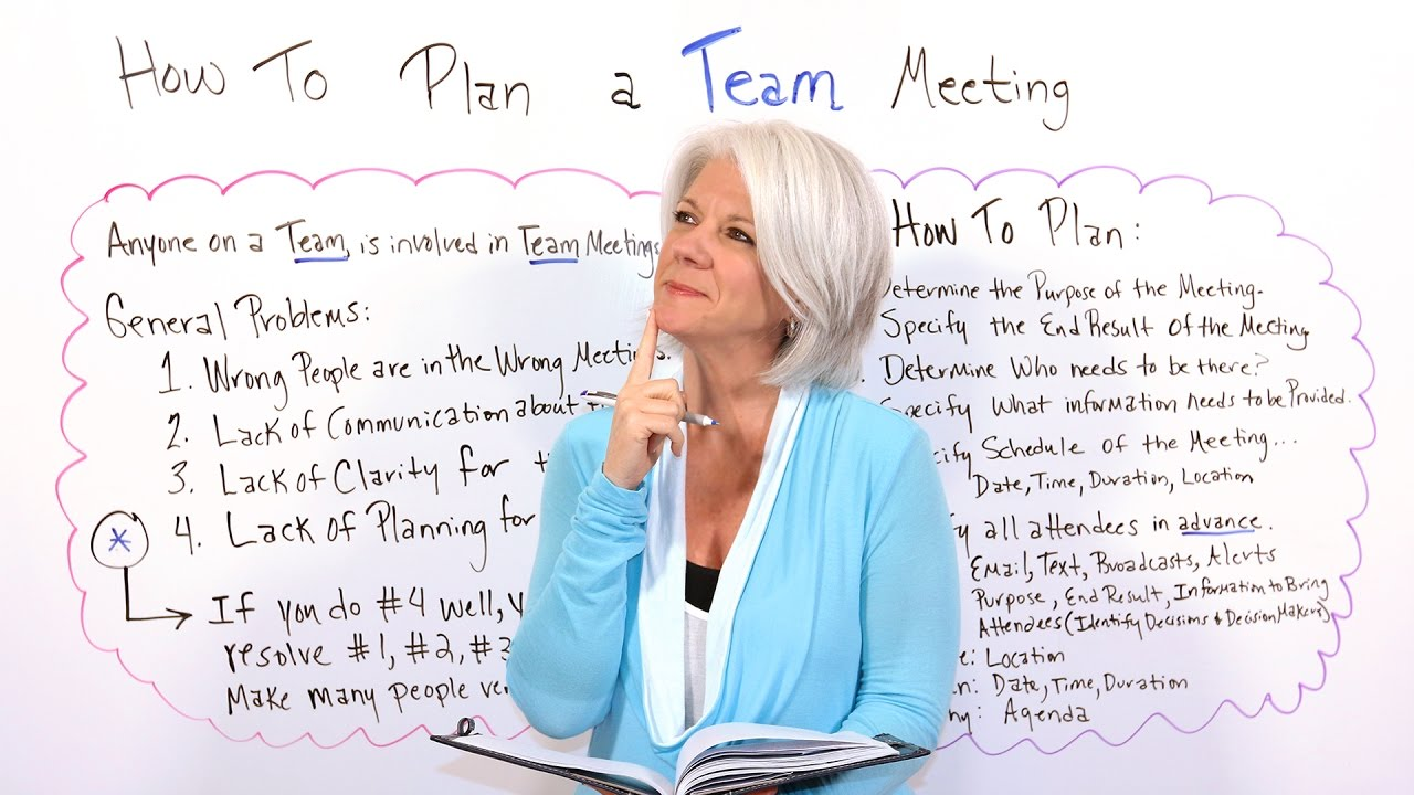 Education Plans Lack Clarity On >> 6 Steps To Meeting Planning