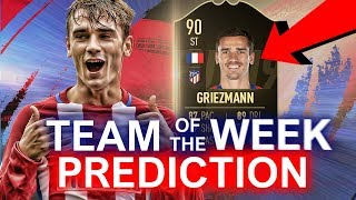 TOTW 14 PREDICTIONS FIFA 19!  IF GRIEZMANN | TEAM OF THE WEEK 14 #FIFA19 #TOTW14