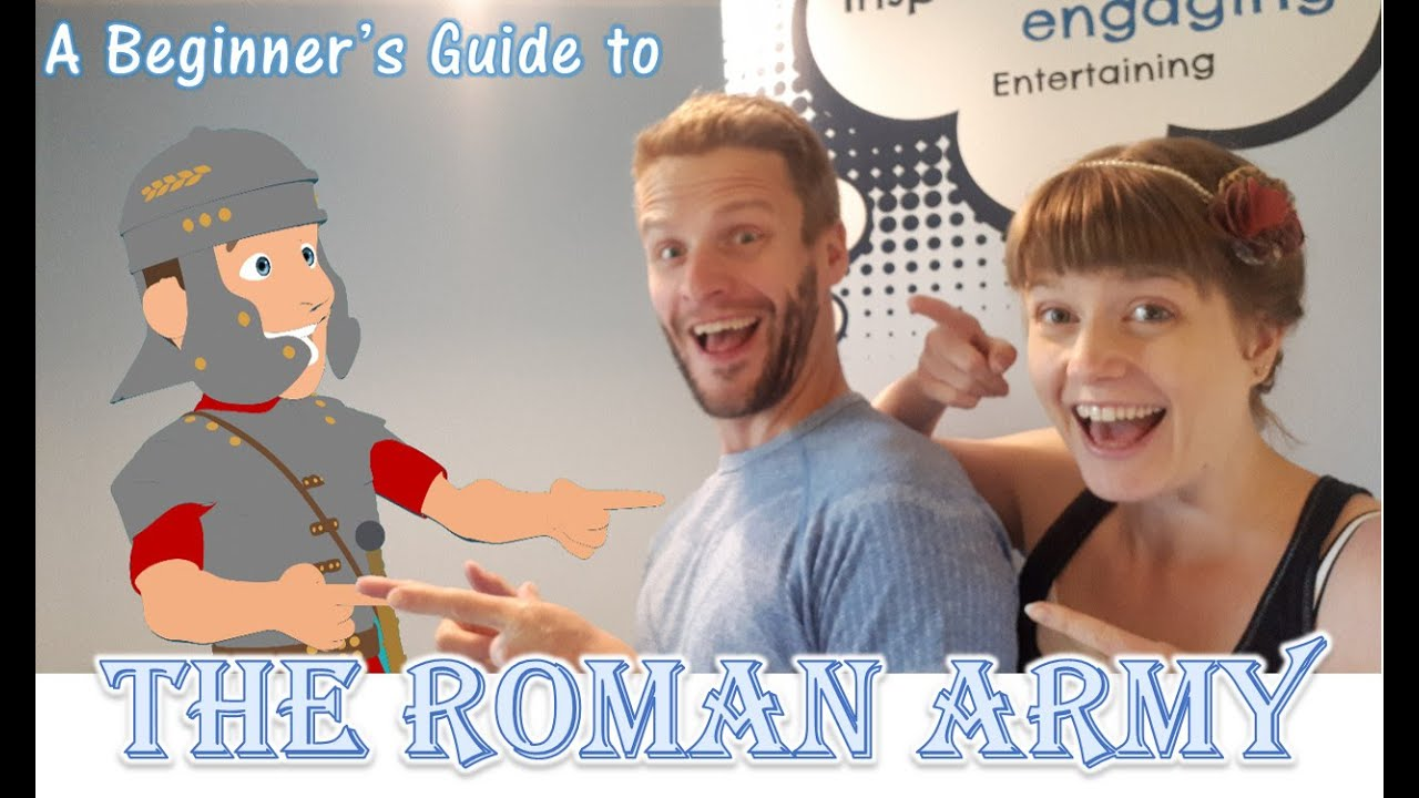 The Roman Army - A Beginner's Guide for Kids