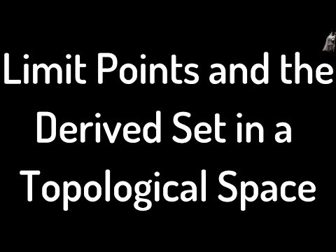 Finding Limit Points and the Derived Set in a Topological Space