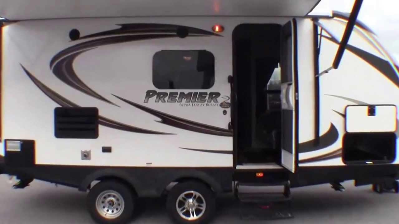 2014 Keystone Premier 19 FBPR Ultra Lite Travel Trailer By Bullet Only 4200 Pounds