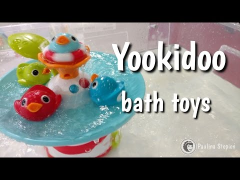 Fajne zabawki kąpielowe Yookidoo Submarine Spray Station & Musical Duck Race bath toys