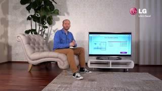 LG LED Smart TV - 4 Erstinstallation des TVs