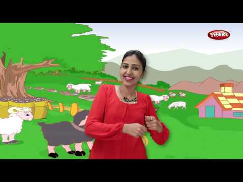Baa Baa Black Sheep With Actions | Nursery Rhymes For Kids With Lyrics | Action Songs For Children