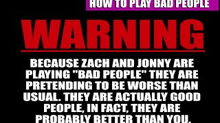 How to Play Bad People - A Guide to the Bad People Card Game - A Game Like Cards Against Humanity