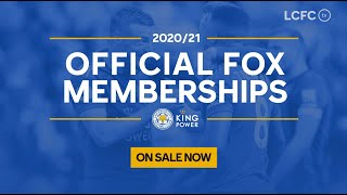2020/21 Fox Memberships | Leicester City