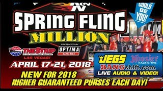 Spring Fling Million 2018 Las Vegas