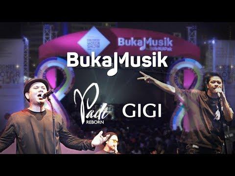 Padi Reborn & Gigi Live at IIMS 2018 | BukaMusik