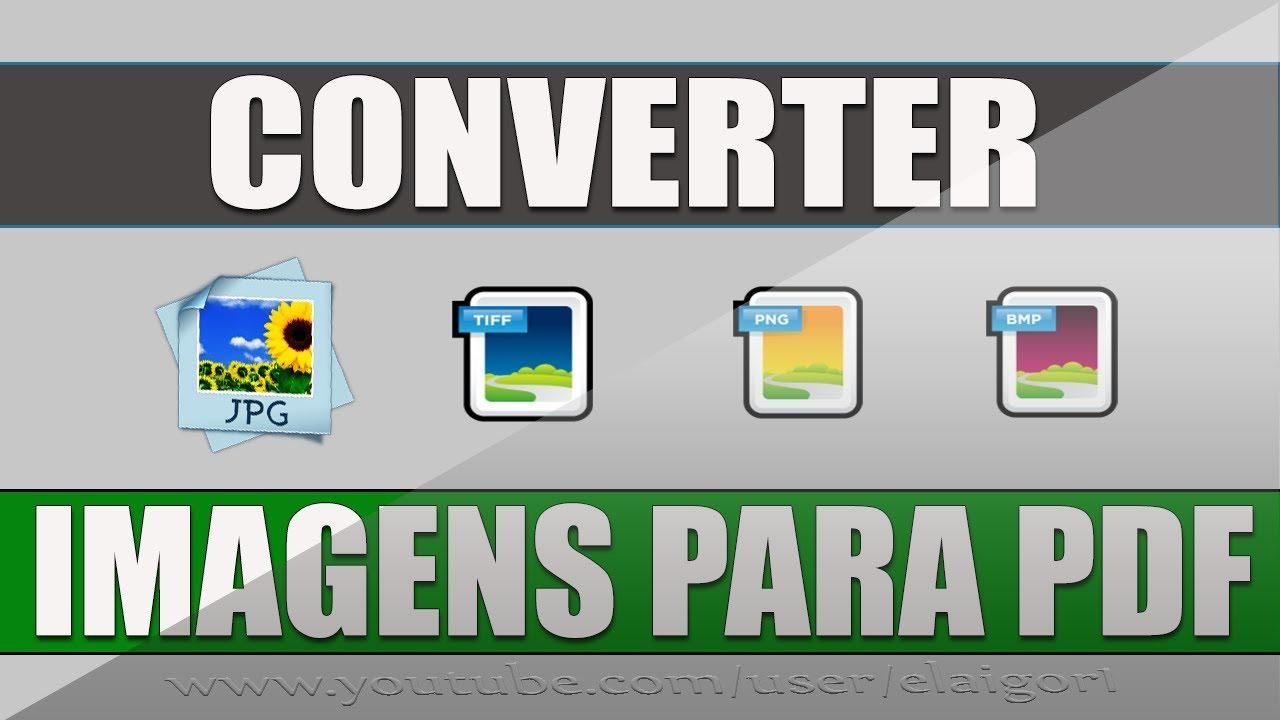 Como converter imagens para PDF ⭐- MiTutoriais - YouTube