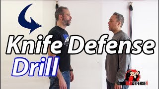 Knife Defense Awareness Drill