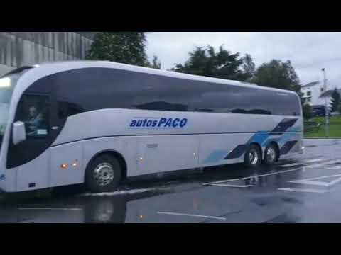 Los buses se suman a la marcha por la térmica que unirá a 2.000 personas