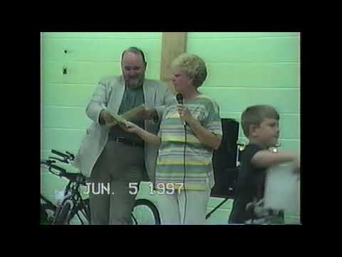 Marmet Elementary School Awards Ceremony 1997