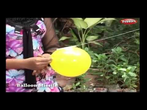 Balloon Missile | Science Experiments For Kids | Science Projects | Science Tricks