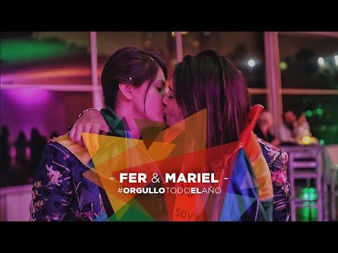 Mariel y Fer 🏳️🌈❤️ #OrgulloTodoElAño