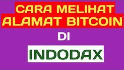Cara melihat dan menyalin alamat dompet Bitcoin, ETH dan digital aset lainnya di Indodax.