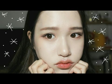 Get Ready With Me!! Trying Out False Lashes *ㅡvㅡ* Student Makeup / Susan