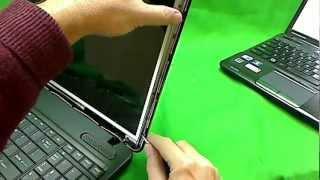 Процедура замены экрана ноутбука Toshiba Satellite C650 C655