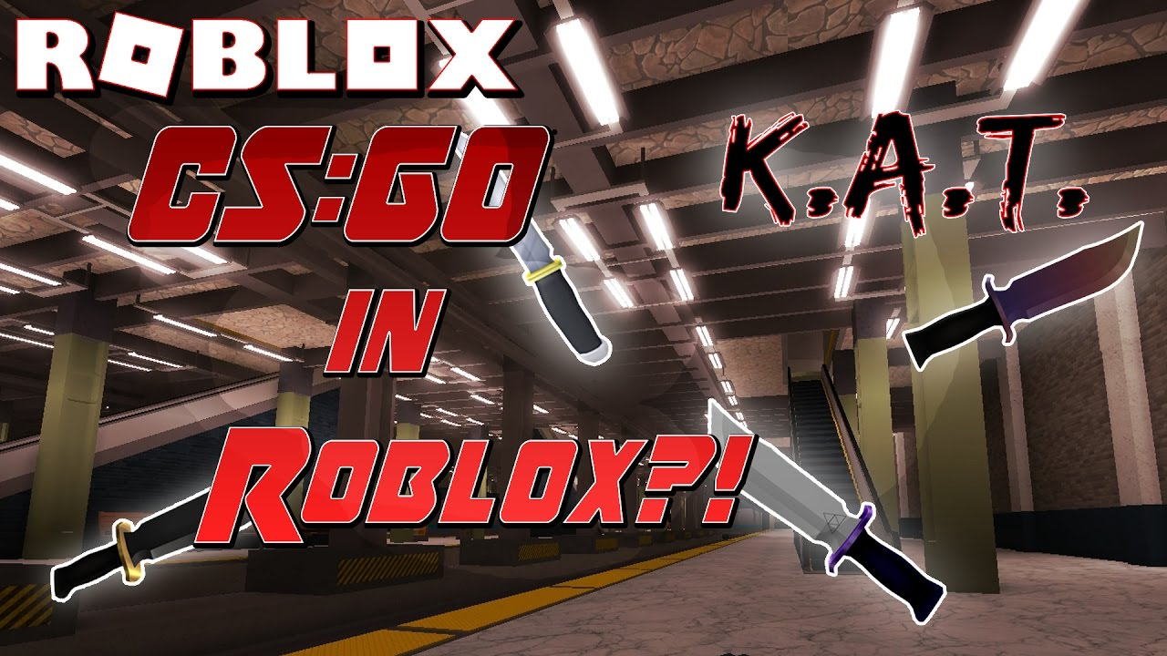 PLAYING WITH A HACKER?! | Roblox Knife Ability Test K A T  NEW Funny  Moments, Gameplay, Let's Play!