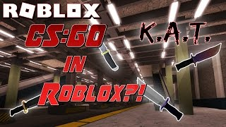 PLAYING WITH A HACKER?! | Roblox Knife Ability Test K.A.T. NEW Funny Moments, Gameplay, Let's Play!