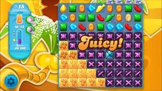 Candy Crush Soda Saga Level 499 - No boosters